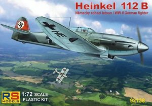 RSM92138 - RS Models 1/72 HEINKEL 112 B GERMAN