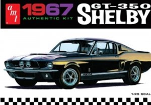 AMT834 - AMT 1/25 1967 SHELBY GT-350 'BLACK'