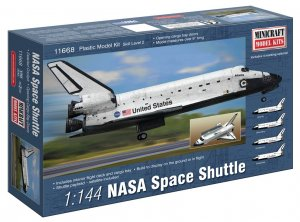 MIN11668 - Minicraft 1/144 NASA Space Shuttle