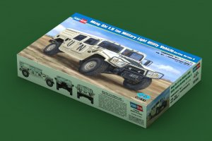 HBB82468 - Hobbyboss 1/35 Meng Shi 1.5 ton Military Light Utility Vehicle - Hardtop Version A