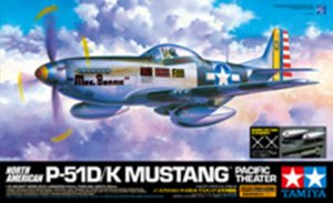 TAM60323 - Tamiya 1/32 P-51D/K PACIFIC THEATER