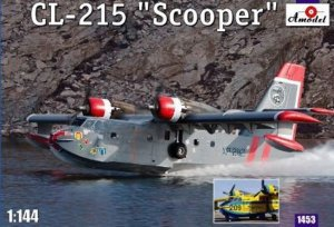 AMO14453 - Amodel 1/144 CL-215 'SCOOPER' WATER BOMBER