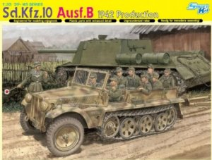 DRA6731 - Dragon 1/35 Sd.Kfz.10 Ausf.B 1942 Production - Smart Kit - '39-'45 Series