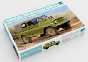 TRP02327 - Trumpeter 1/35 Soviet UAZ-469 All-Terrain Vehicle