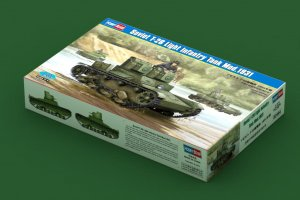 HBB82494 - Hobbyboss 1/35 Soviet T-26 Light Infantry Tank Mod.1931