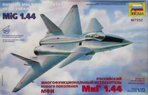 ZVE7252 - Zvezda 1/72 MiG 1.44 Russian Multirole Fighter New Generation