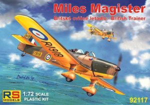 RSM92117 - RS Models 1/72 MILES MAGISTER TRAINER