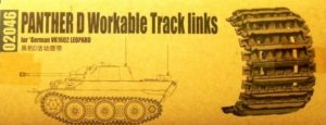 TRP02046 - Trumpeter 1/35 PANTHER D WORKABLE TRACK links for German VK1602 Leopard