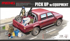 MENVS002 - Meng 1/35 PICKUP W/EQUIPMENT