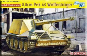 DRA6728 - Dragon 1/35 Ardelt Rheinmetall 8.8cm PaK 43 Waffentrager - Smart Kit - '39-'45 Series