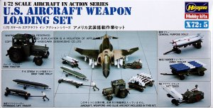 HAS35005 - Hasegawa 1/72 U.S. Aircraft Weapon Loading Set