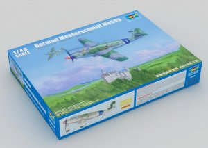 TRP02849 - Trumpeter 1/48 German Messerschmitt ME-509