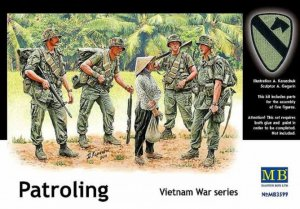 MBLMB3599 - Master Box 1/35 Patrolling - Vietnam War Series