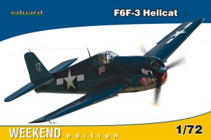 EDU7414 - Eduard Models 1/72 F6F-3 Hellcat [Weekend Edition]