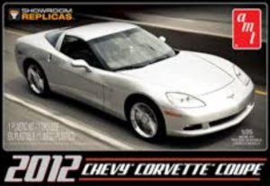AMT756 - AMT 1/25 2012 CHEVY CORVETTE COUPE
