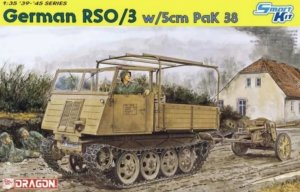 DRA6684 - Dragon 1/35 German RSO/3 w/5cm PaK 38 - Smart Kit - '39-'45 Series
