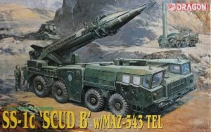 DRA3520 - Dragon 1/35 SS-1c SCUD B with MAZ-543 TEL - Modern AFV Series