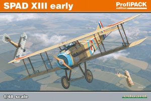 EDU8197 - Eduard Models 1/48 SPAD XIII EARLY PROFIPACK