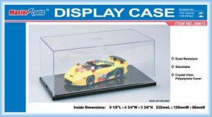 "TRP09813 - Trumpeter Display Case Vitrine - (L/W/H) = 232 x 120 x 86mm / 9 1/8"" X 4 3/4"" X 3 3/8"""