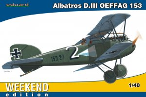 EDU84150 - Eduard Models 1/48 ALBATROS D.III OEFFAG 153 WEEKEND