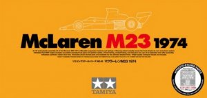 TAM12045 - Tamiya 1/12 McLaren M23 1974 with Photo-Etched Parts