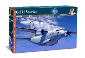 ITA1284 - Italeri 1/72 C-27J Spartan with REFERENCE