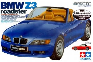 TAM89592 - Tamiya 1/24 BMW Z3 Roadster (Metal Plated Body)