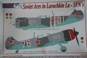 AML72052 - AML Models 1/72 La-5FN Soviet Aces (w/Resin & Photoetch)