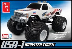 AMT672 - AMT 1/32 USA-1 MONSTER TRUCK - SNAPIT