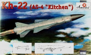 AMO72196 - Amodel 1/72 KH-22 (AS-4 KITCHEN)