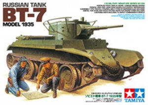TAM35309 - Tamiya 1/35 RUSSIAN TANK BT-7 MODEL 1935