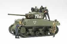 TAM25105 - Tamiya 1/35 M4A2(76)W Sherman 'Red Army' w/figs