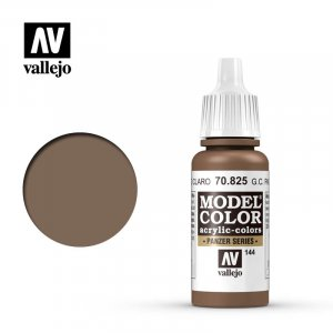 VLJ70825 - Vallejo Type - Model Colour: Ger Cam Pale Brown - 17mL Bottle - Acrylic / Water Based