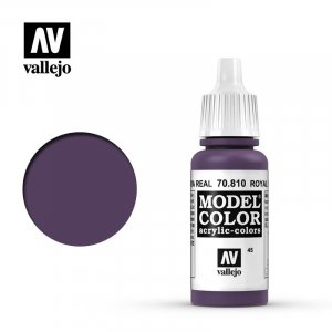 VLJ70810 - Vallejo Type - Model Colour: Royal Purple - 17mL Bottle - Acrylic / Water Based