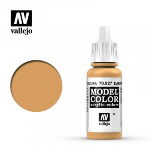 VLJ70927 - Vallejo Type - Model Colour: Dk Flesh - 17mL Bottle - Acrylic / Water Based