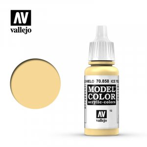VLJ70858 - Vallejo Type - Model Colour: Ice Yellow - 17mL Bottle - Acrylic / Water Based