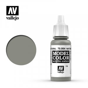 VLJ70864 - Vallejo Type - Model Colour: Natural Steel - 17mL Bottle - Acrylic / Water Based