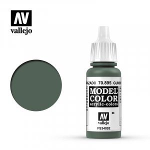 VLJ70895 - Vallejo Type - Model Colour: Gunship Green - 17mL Bottle - Acrylic / Water Based
