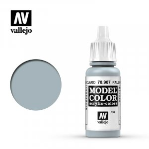 VLJ70907 - Vallejo Type - Model Colour: Pale Grey Blue - 17mL Bottle - Acrylic / Water Based