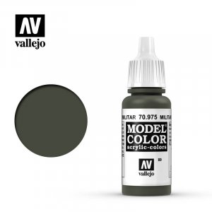VLJ70975 - Vallejo Type - Model Colour: Military Green - 17mL Bottle - Acrylic / Water Based