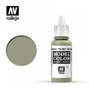 VLJ70987 - Vallejo Type - Model Colour: Medium Grey - 17mL Bottle - Acrylic / Water Based