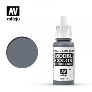 VLJ70992 - Vallejo Type - Model Colour: Neutral Grey - 17mL Bottle - Acrylic / Water Based
