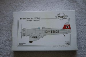 PLM103 - Planet Models 1/72 Blohm & Voss Ha 137 V-2 BMW Powered