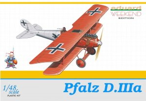 EDU8416 - Eduard Models 1/48 Pfalz D.IIIa [Weekend Edition]