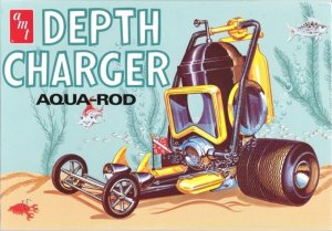 AMT618 - AMT 1/25 DEPTH CHARGER AQUA ROD