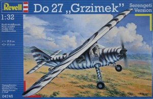 "REV04745 - Revell 1/32 Do 27 ""Grzimek"" Serengeti Version"