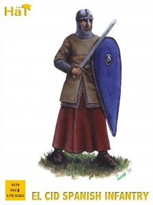 HAT8176 - HAT 1/72 EL CID Spanish Infantry (96 Units)