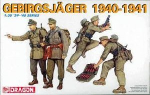 DRA6345 - Dragon 1/35 Gebirgsjager 1940-1941 - '39-'45 Series