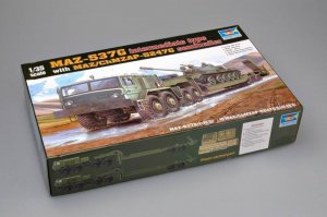 TRP00211 - Trumpeter 1/35 MAZ-537G intermediate type with MAZ/ChMZAP-5247G semitrailer
