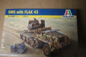 ITA6480 - Italeri 1/35 SWS with FLAK 43